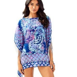 NWT Lilly Pulitzer Ginette coverup, Gypsea Girl XS